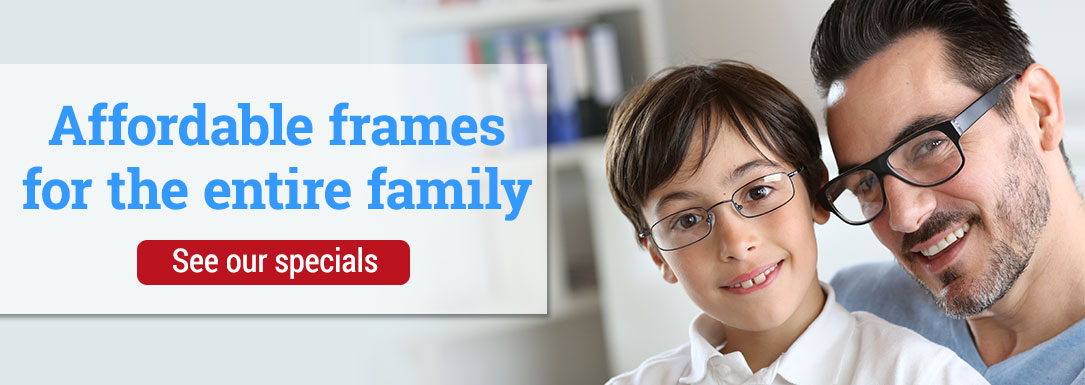 Affordable Designer Frames and Top Manufacturers for the whole family