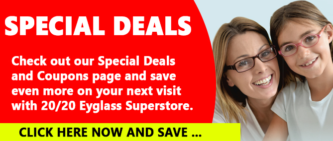 Eyeglass Discounts, Coupons and Savings